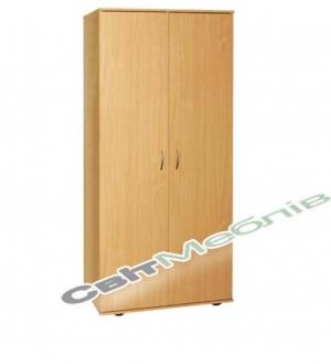 Шафа для одягу з овальною штангою (гл. 496мм)