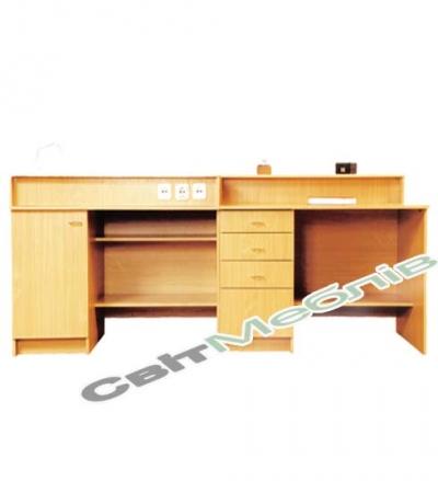 Стіл демонстраційний для кабінету хімії