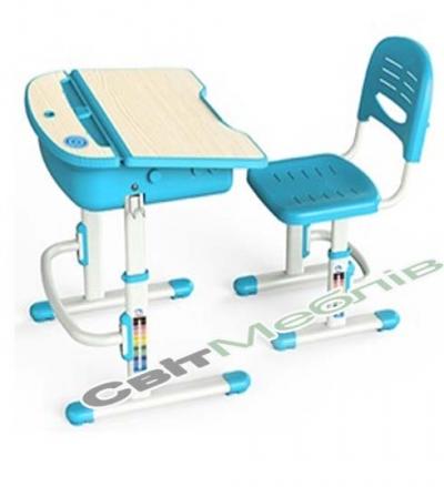 Комплект - транформер: стол 1-местный + стул