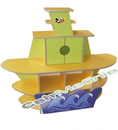"""Ігровий набір """"Кут.""""Кораблик"""""""