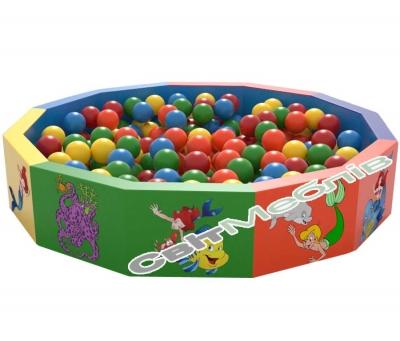 Сухий басейн з кульками