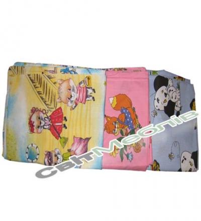 Комплект дитячої білизни 150х100 кольоровий