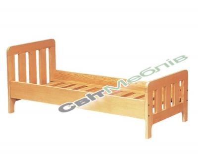 Ліжко дитяче з натуральної деревини
