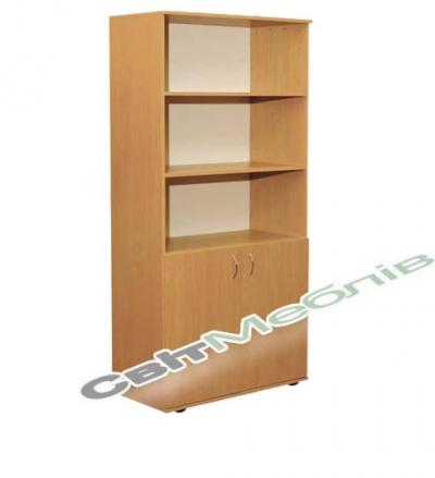 Шафа книжкова напівз. 2-дверна (гл. 380мм)