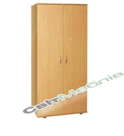 Шафа для одягу і книг закрита 2-дверна (гл. 496мм)