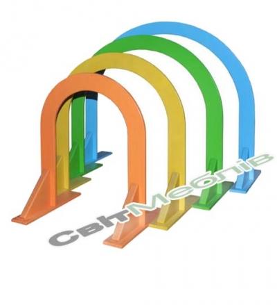 Комплект дуг для підлізання кольорових (4 штуки)