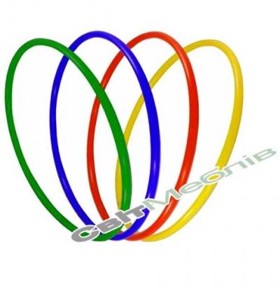 Обруч гімнастичний пластиковий D - 820