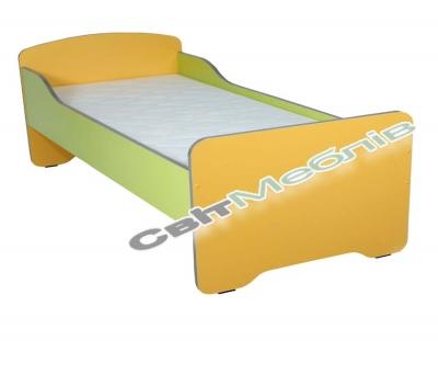 Ліжко дитяче без матрацу з високими бильцями