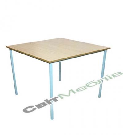 Стіл для їдалень квадратний 4-місний, ростова група №6
