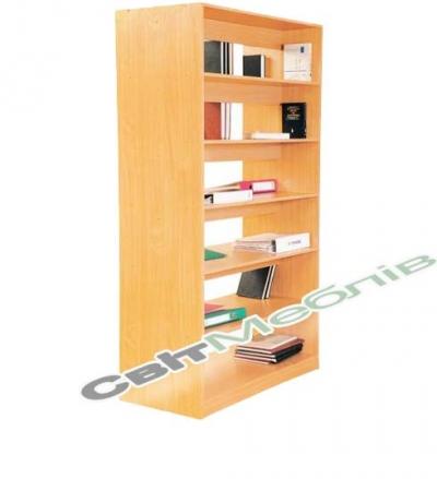 Стелаж для бібліотеки 2-сторон.