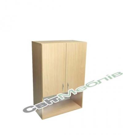Шафа низька 2-дверна з нішею (глиб. 380мм)