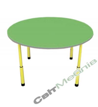 Стіл для садочка круглий
