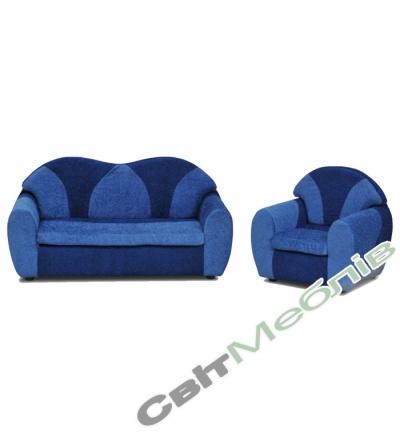 Диван і крісло для дитячого садочку №3