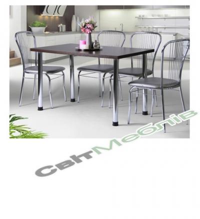 Комплект  стіл та стільці Цезарь