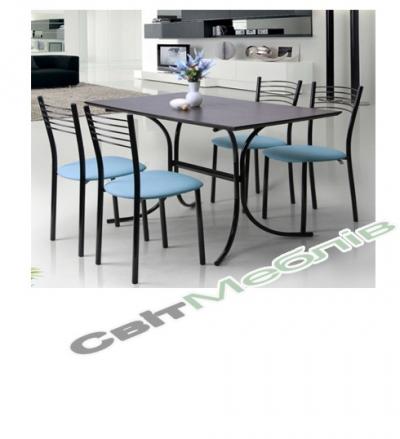 Комплект  стіл та стільці Олівія