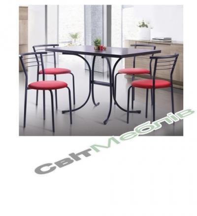 Комплект  стіл та стільці Маркос