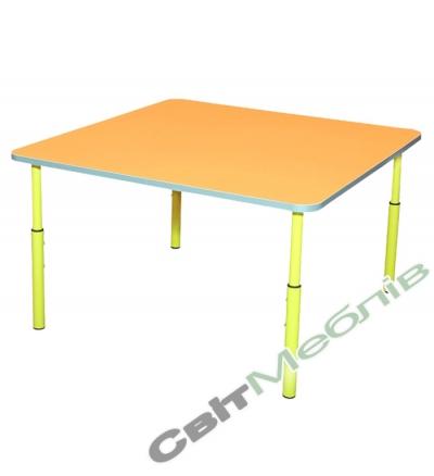 Стол для садика квадратный