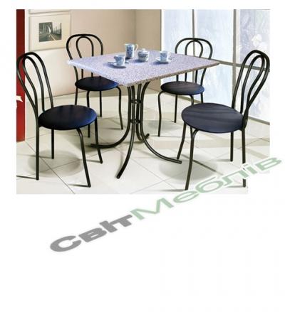 Комплект  стіл та стільці Тюльпан