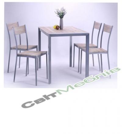 Комплект  стіл та стільці Тім'ян