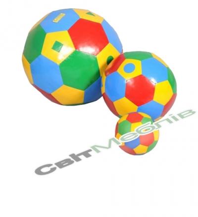Набір сенсорних м'ячів різного розміру